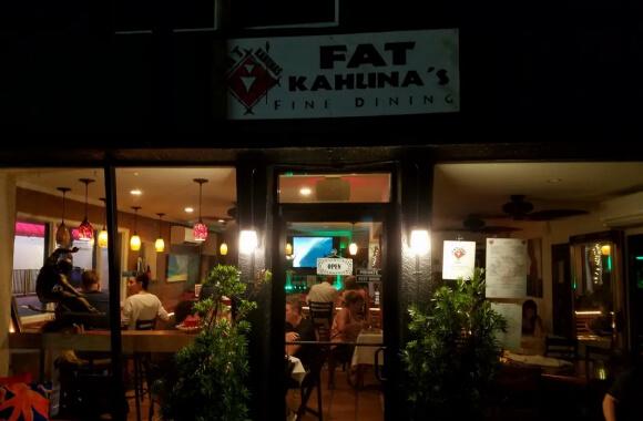 Fat Kahuna's Beach Side Grill